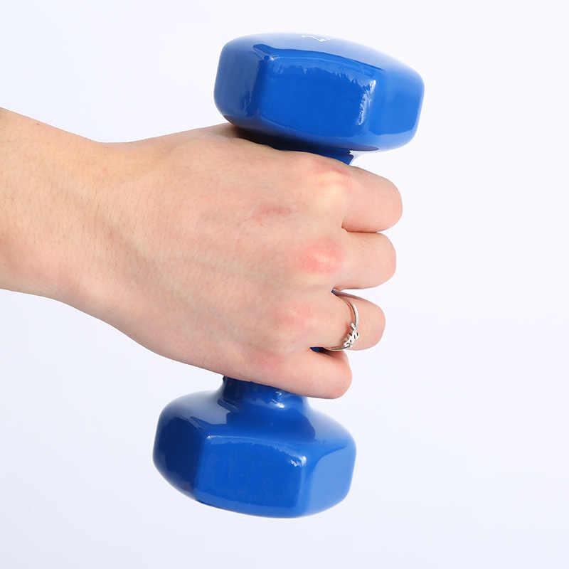 Новые женские фитнес цветные гантели домашние тренажеры женские спортивные гантели тренажеры