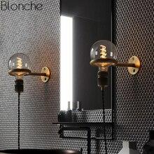 Скандинавское Винтажное кольцо Для панка настенный светильник Led Бра зеркальный светильник Ретро Лофт промышленный светильник для спальни ванной комнаты домашний декор