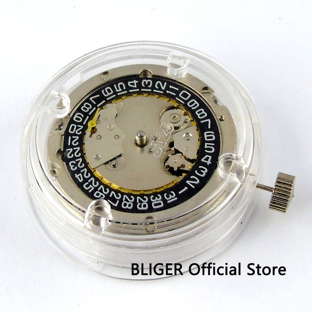 Classic ST2555 Mechanical Automatic movement date display small second hand watch movement BM7 | Watch Winders