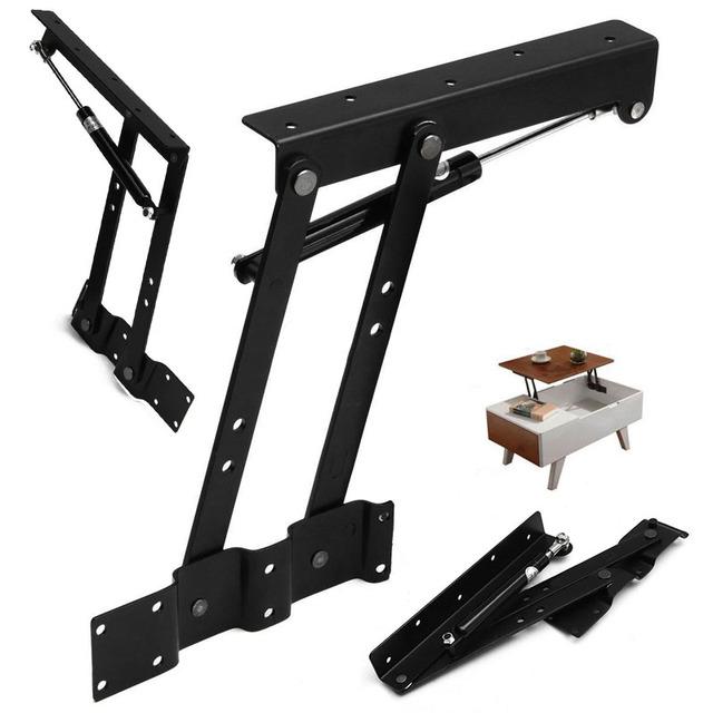 1 Par Levante Mecanismo de Mesa de Café Superior Resorte de La Bisagra de Hardware Bisagra Para Muebles Accesorios de Mesa De Montaje