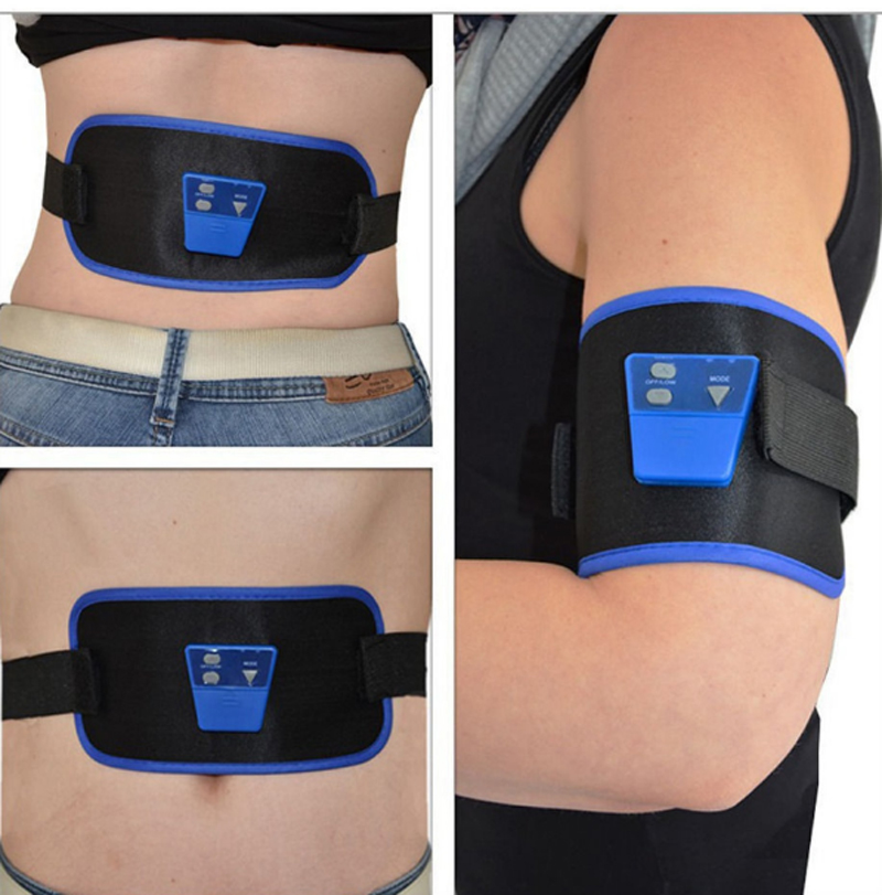 Electronic Body Muscle Arm leg Waist Abdominal Massage Exercise Toning Belt Slim Fit Hot Selling KSX-09