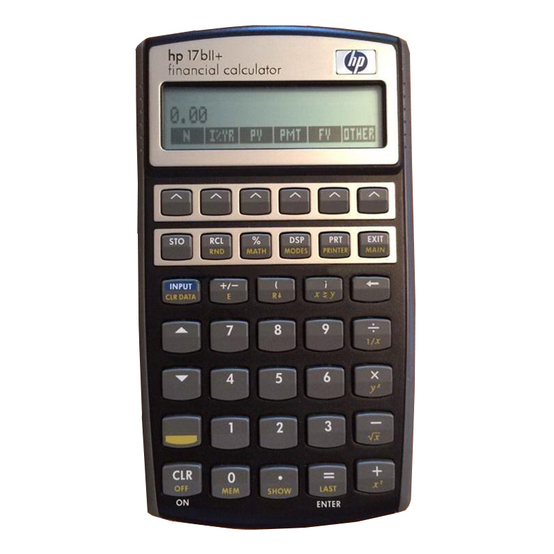 Second Hand Hp 17BII+ Financial Calculator 22 Digits Lcd Eletronicos Calculator Hp17BII+ Afp, Cfp Special Genuine cfp board financial planning competency handbook