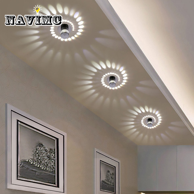 Creative Lamp Small Led Ceiling Light For Art Gallery Decoration Front Balcony Porch Corridors