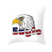 Independence Day print pillow case 45*45 Home Decorative Throw Pillowcase Pillow Covers cheap cover 2019 NEW