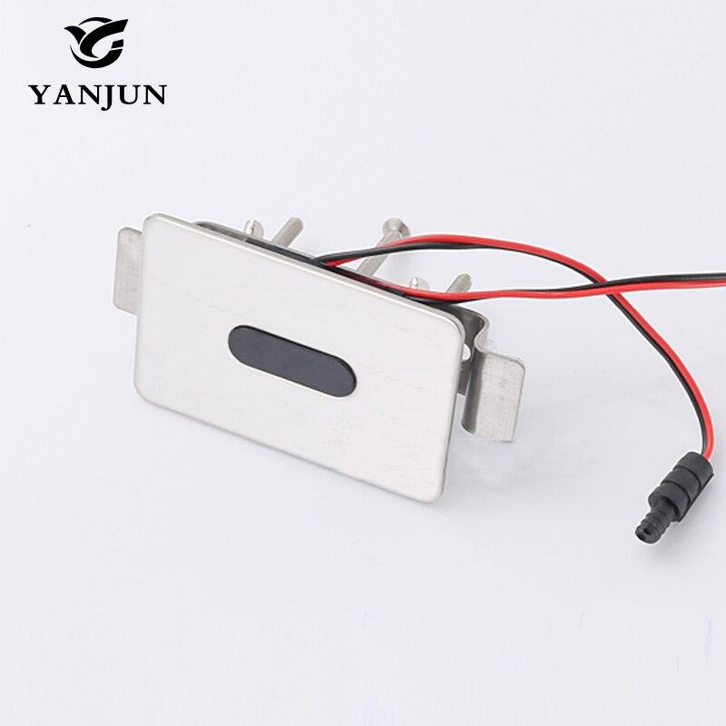 Yanjun Automatic Urinal Flush Valve ceramic sensor urinal YJ-6325 yanjun automatic urinal flush valve infrared wall mount hand touchless dc yj 6311
