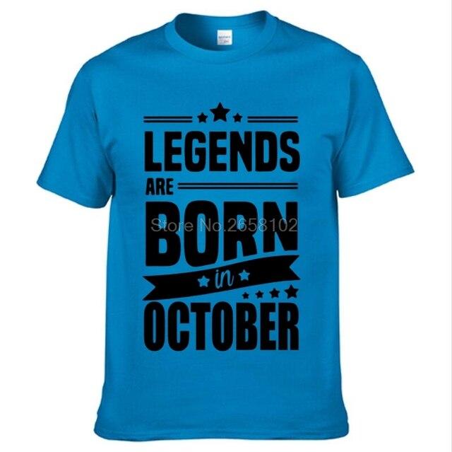 Drôle Nouveauté T-shirt homme tee tshirt-Legends octobre