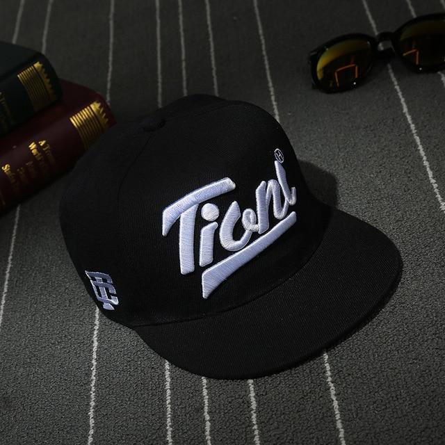 Begocool Letter Baseball caps snapback hat for men women brand adjustable gorras planas hip hop cap black COOL-011