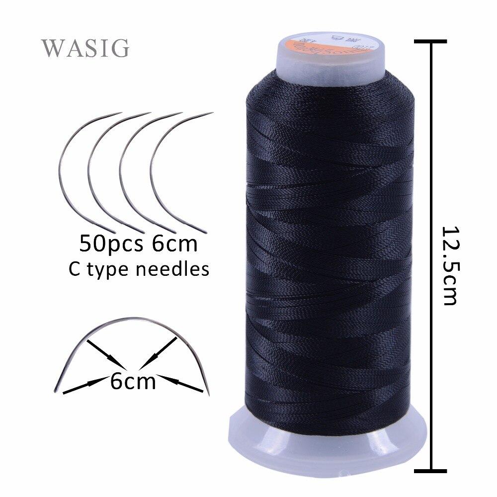 ᐅEnvío libre 50 unids 6 cm longitud C tipo tejer agujas curvas y 1 ...