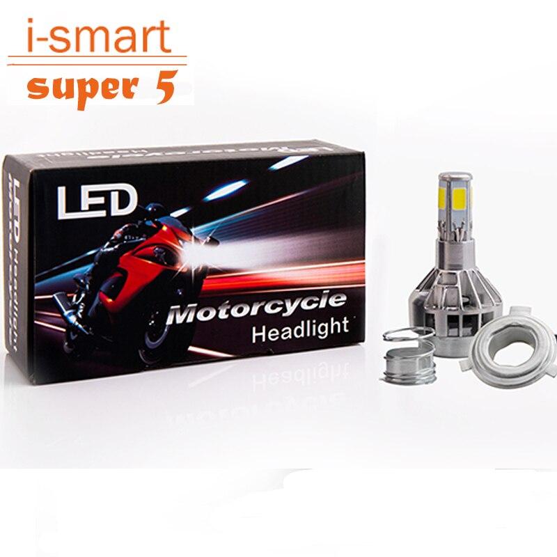 Motorcycle headlight LED H4 streetfighter headlight bulb BA20D motor front light spot universal lamp H6 for cafe racer KTM ...