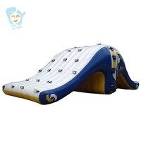 Гигантские Надувные Плавающие Аква море парк игры воды забавная игрушка надувные крыло слайд летние пляжные аквапарк настроить