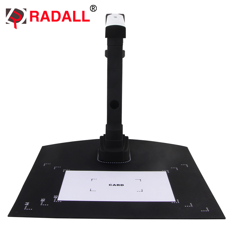 Portable Document Scanner a4 a3 HD Book Scanner High Speed Camera Scan Output Format JPG, PDF DOC TXT for Office SD-002
