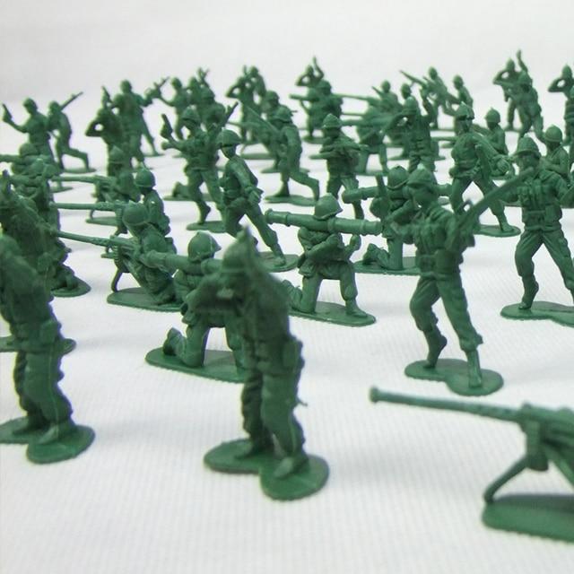 8 sortes de style 100 pcs/ensemble Petit soldat dans la ...