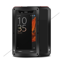 LOVE MEI for Sony Xperia XZ Powerful Shockproof Dropproof Dustproof Phone Case