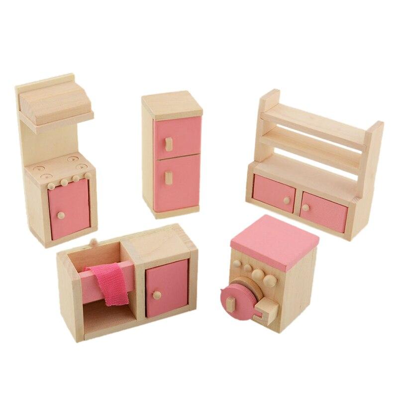Muebles de cocina Accesorios de Cocina Conjunto de Juguete Muñeca De ...