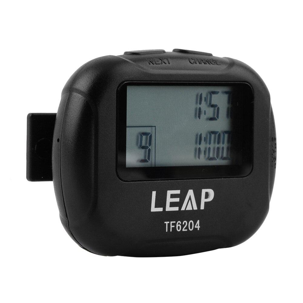 cronômetro tf6204 preto intervalo eletronic timer cronógrafo promoção venda