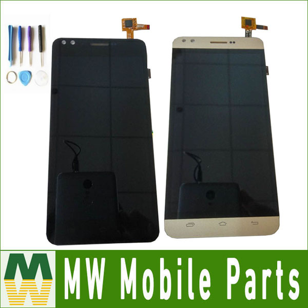 1PC/Lot For Prestigio Muze C3 PSP3504 PSP3504DUO Touch Screen And Lcd Screen Assembly With Tools Black Gold Color with tools