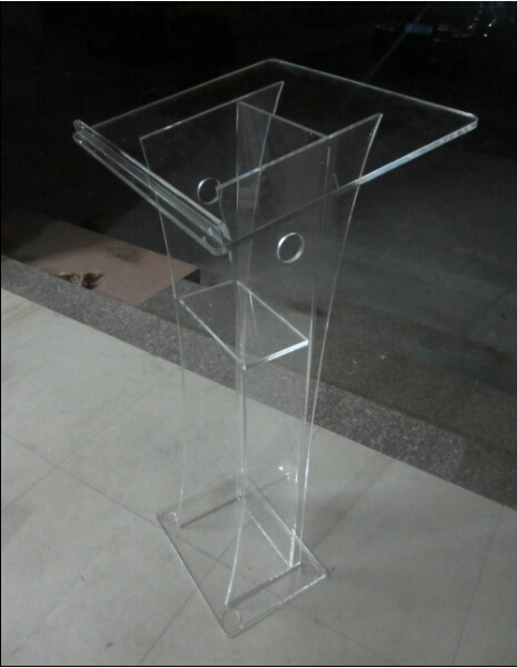 Custom Acrylic Plexiglass Lectern Podium Pulpit Free Shipping