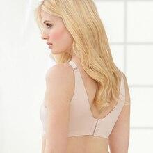 Bralette Femmes de Plus La Taille de Soutien-Gorge En Microfibre BH Sans Fil Ultra Mince Plus Lisse retour Doux Bralette 44 46 48 50 C D E F