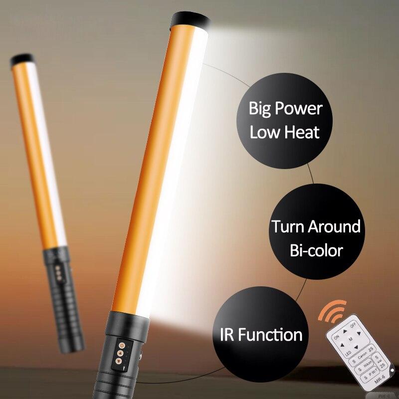 Spash STL-900 oświetlenie LED wideo ręczne oświetlenie fotograficzne 3200K-5600K 298 lampa studyjna LED lampa z pilotem NP-F550