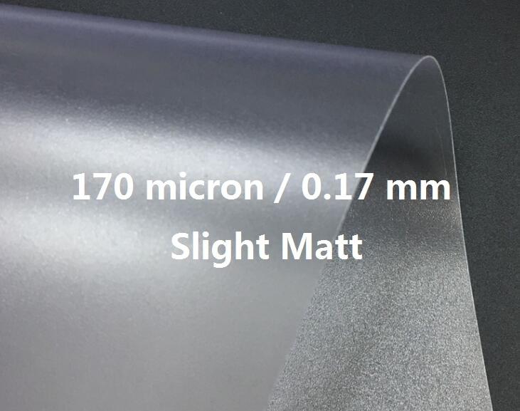 10 To 30 Sheets A4 Slight Matt Frosty Translucent PVC PVC/Acetate Sheet Binding Cover 170 Micron термоконтейнер для банок и бутылок asobu frosty to 2 go chiller цвет черный