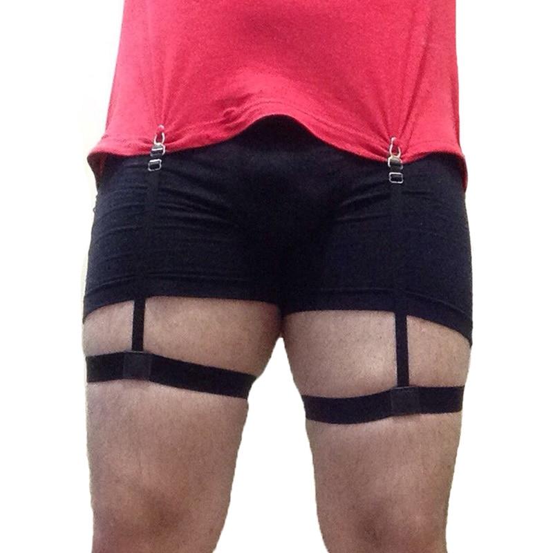 Mens Shirt Holder Elastic Braces Gentleman Tirantes Men Shirt Stays Garter Holders Business Suspender Belt Button Suspenders
