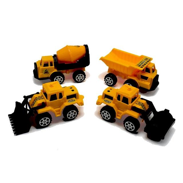 Mini Truck Model Toys Cars Simulation Construction Vehicle