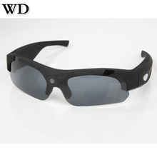 WD SM16 HD 1080P Eyewear Video Recorder Sunglasses Camera Mini Camcorder Wide angle 120 degrees Sports Glasses Support TF Card