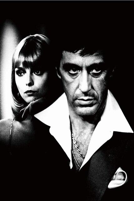 Free Shipping 24x35 Inch Al Pacino Scarface Tony Montana