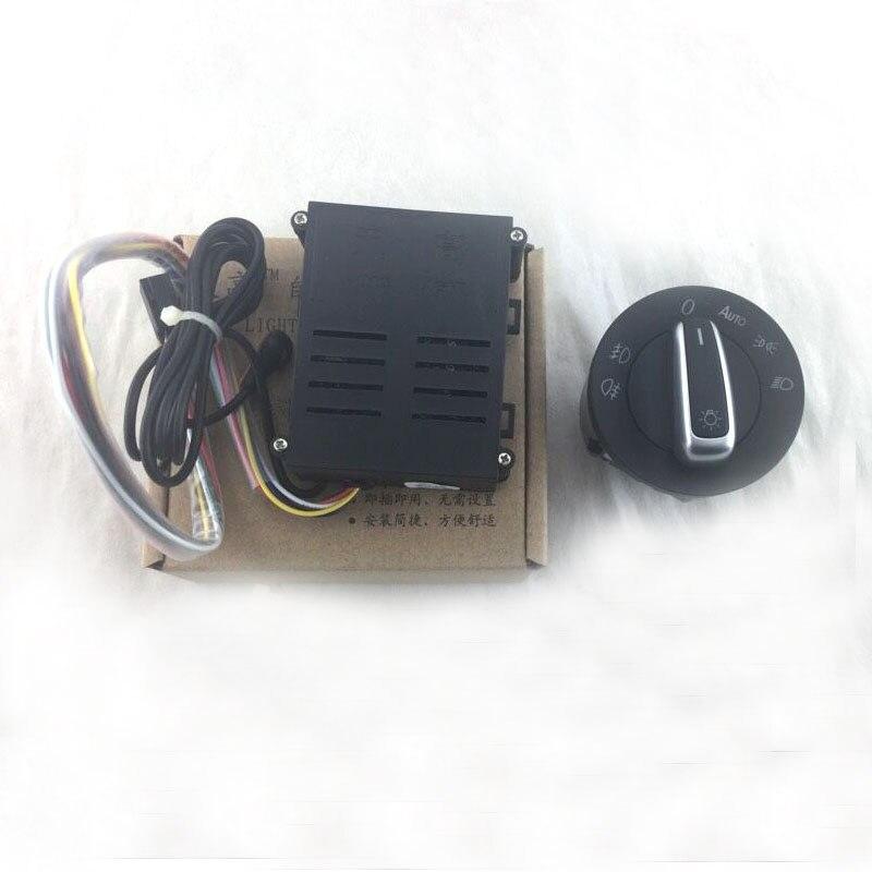 Feux de voiture interrupteur + chrome auto capteur de lumière pour Passat B5 Lavida Bora Polo Golf 4 nouvelle Jetta Santana Beetle 5ND941431B