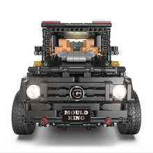 цены Mould king Technic Series 13070 Compatible With MOC-2425 G500 AWD Wagon Set Building Blocks Bricks Kids RC Motor Car Toy