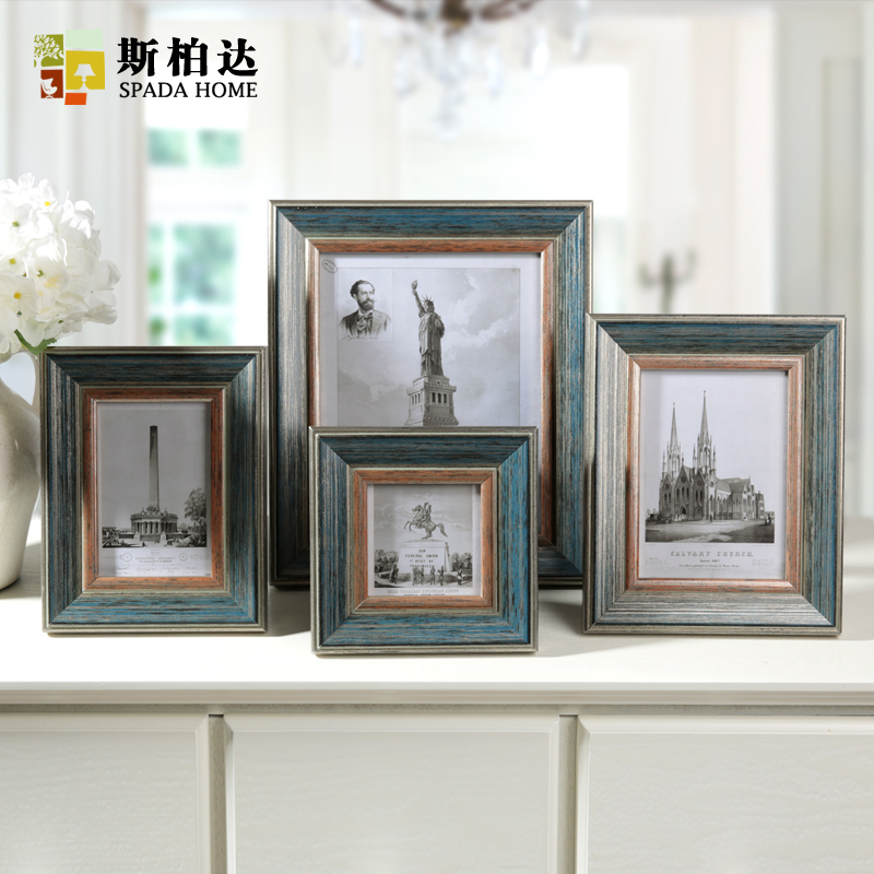 4 6 7 10 Inch American Classic Photo Frame Vintage