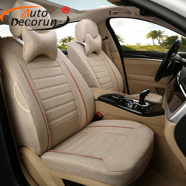 AutoDecorun Fabric Car Cushion for Peugeot 206cc Styling Seat Covers ...