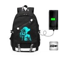 Laptop Backpacks Luminous 10 17.3inch USB Charge popular large capacity waterproof Tablet notebook bag for macbook Travel