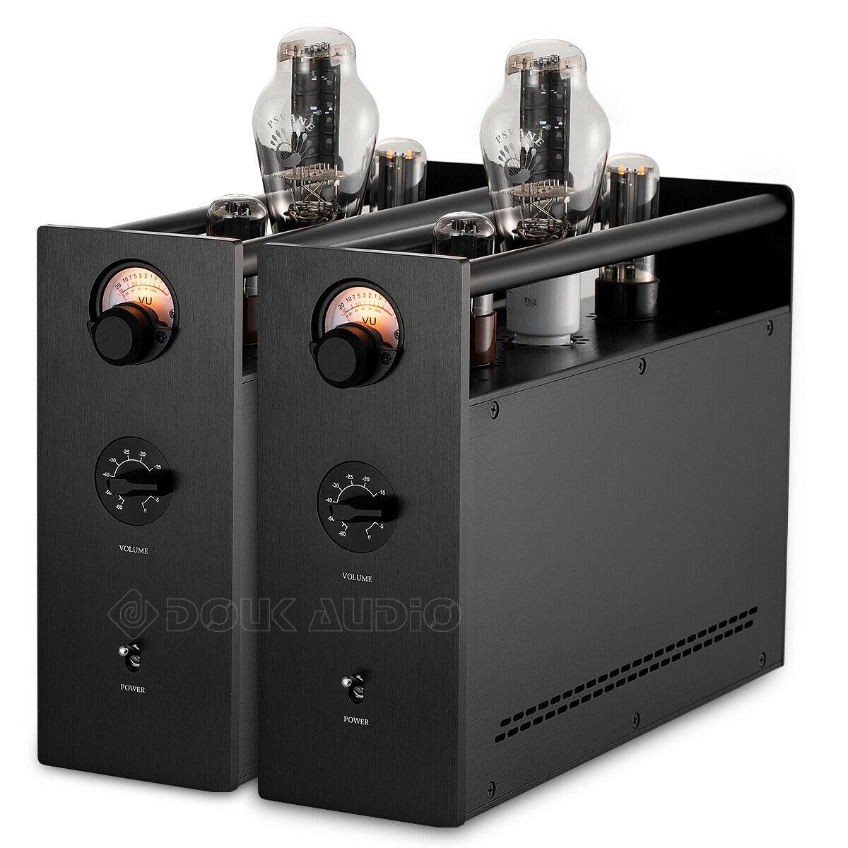 Nobsound Hi-Fi haut de gamme 300B Mono Tube à vide amplificateur intégré Split classe A amplificateur de puissance stéréo