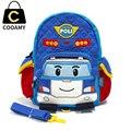 Рюкзак с рисунком для детей в детском саду, портфель для мальчиков, милый рюкзак, брезентовый рюкзак, милый детский портфель с мультяшным автомобилем