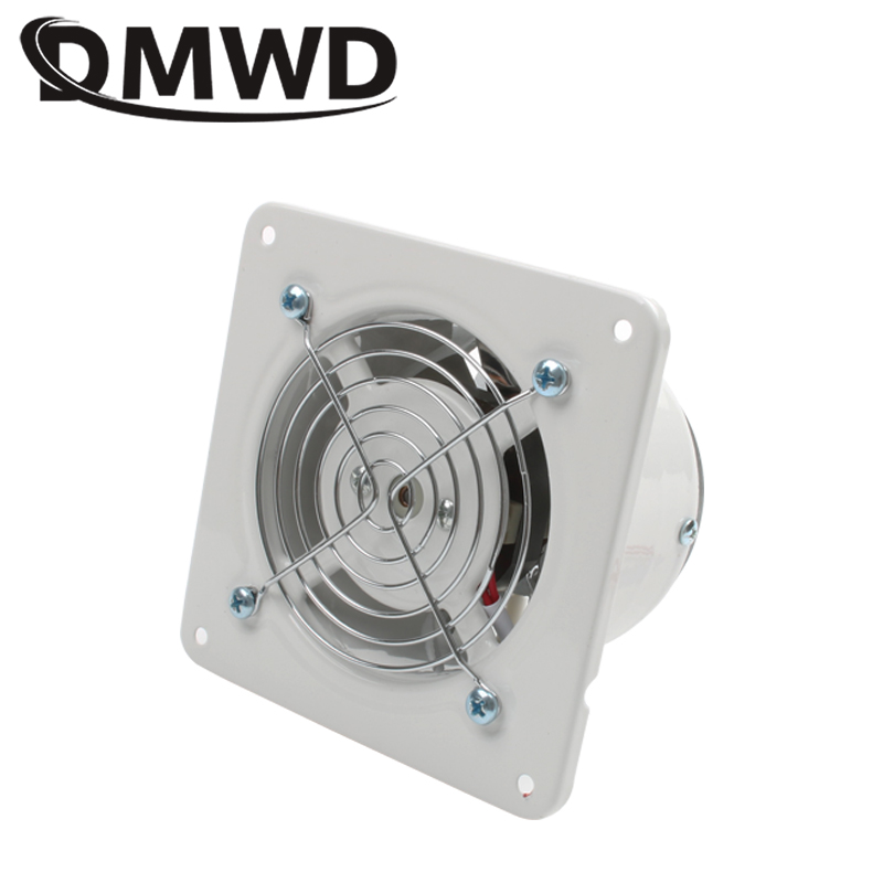 DMWD 4 Inch 25W Kitchen Toilet Exhaust Fan Ventilator 4