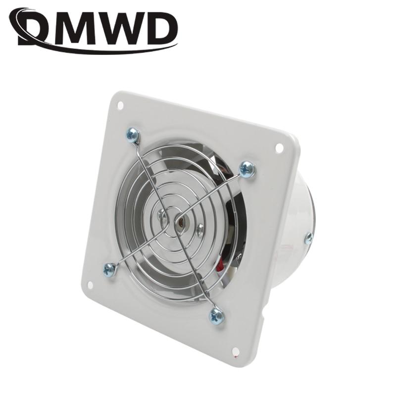 DMWD 4 Inch 25W Kitchen Toilet Exhaust Fan Ventilator 4