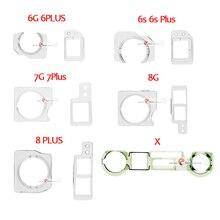 2set Front Camera  Sensor Plastic Holder Kit for iPhone X 8 7 6 6S Plus 5S 5 Proximity Holder Clip Bracket Set parts