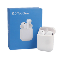2019 Hot Sale I10 Touch 5.0 Mini Wireless Headset Earphones Dual Headset with mic ear bud I10 tws Headphones PK i9s i11