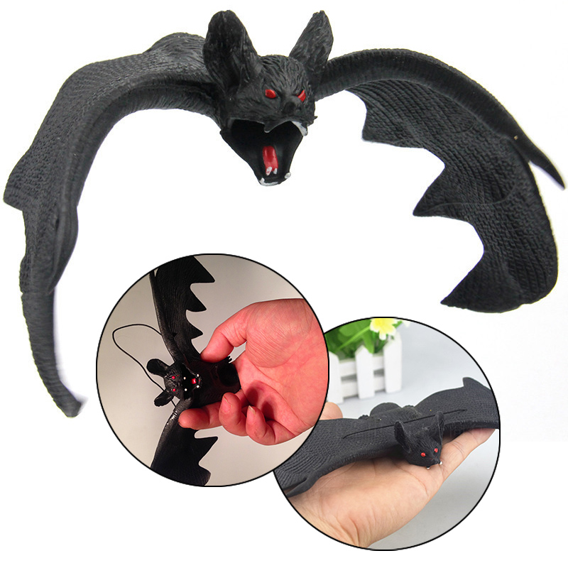 Spooky Animals Halloween Fake Bats Jokes Toys Childrens Gifts Party Decorations