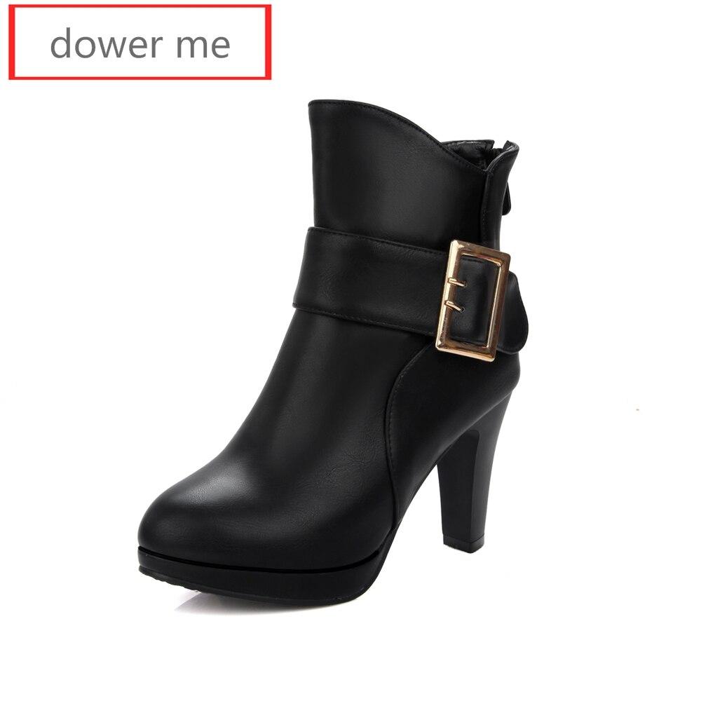 dower me 2017 women s font b boots b font leather production font b ankle b