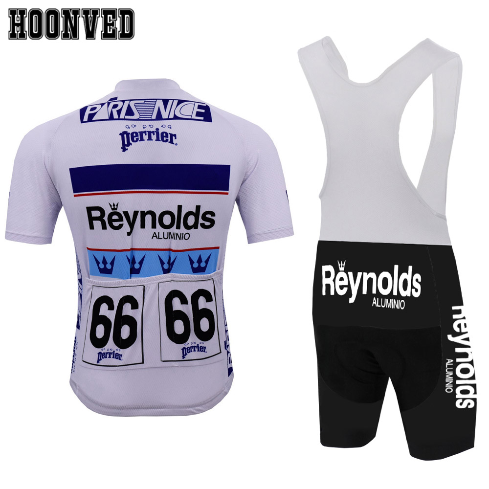 2019 Retro REYNOLDS cycling jersey men summer RACE Team Bike Cycling