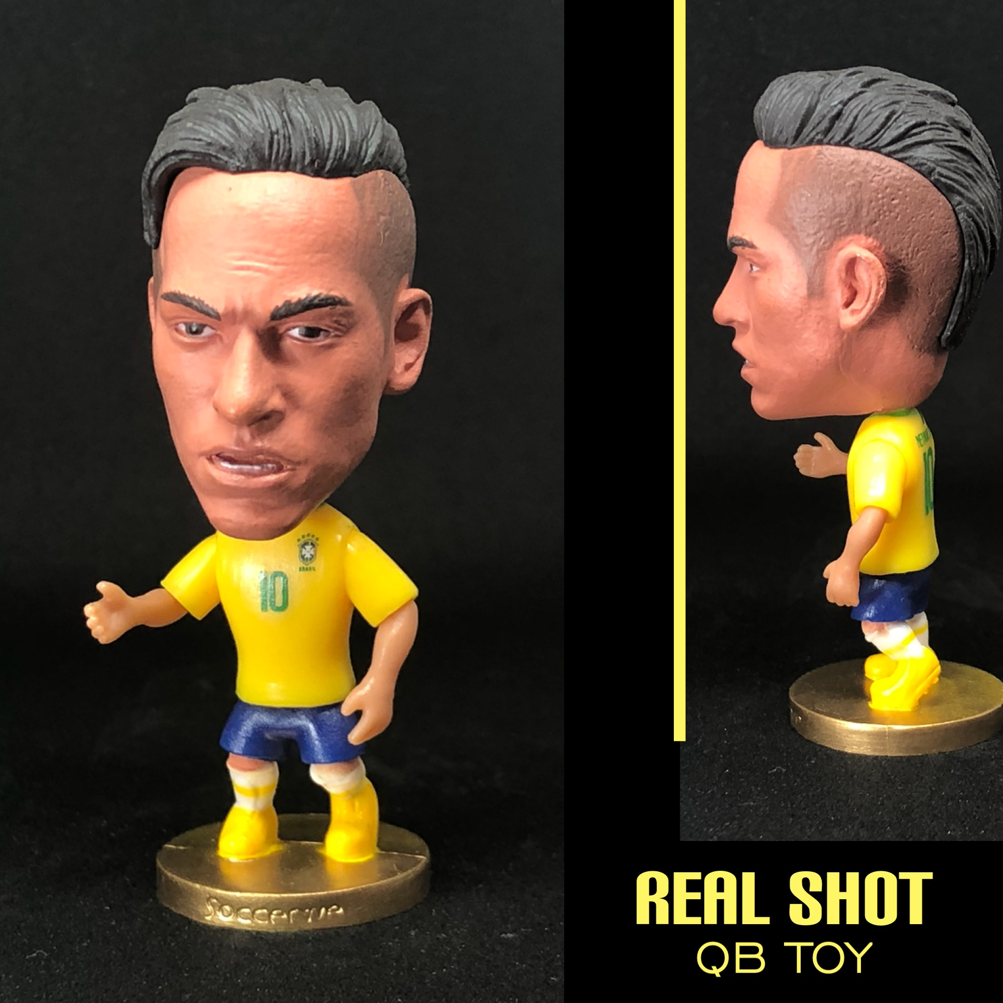 Soccerwe dolls figurine 2019 Brazil Neymar Movable joints resin model jobs toy action figure dolls collectible gift