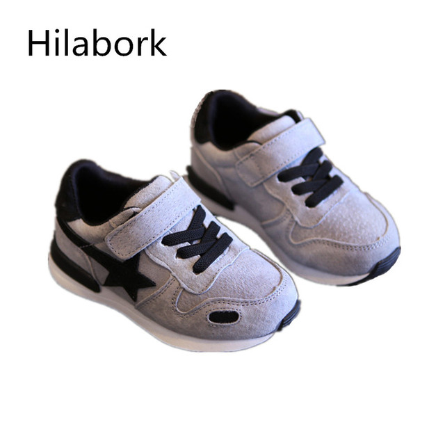 Children sneakers male 1-3 years old shoes baby leisure running shoes leather spring and autumn 2017 spring baby toddler shoes