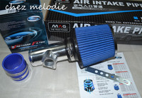 AIR INTAKES PIPE KIT+Air FILTER for BMW E46 E90 E92 E93 318 320 325 325i E60 520i 523i 525i 530i, Audi A4 TT 1.8T 8E B5 B6 B7
