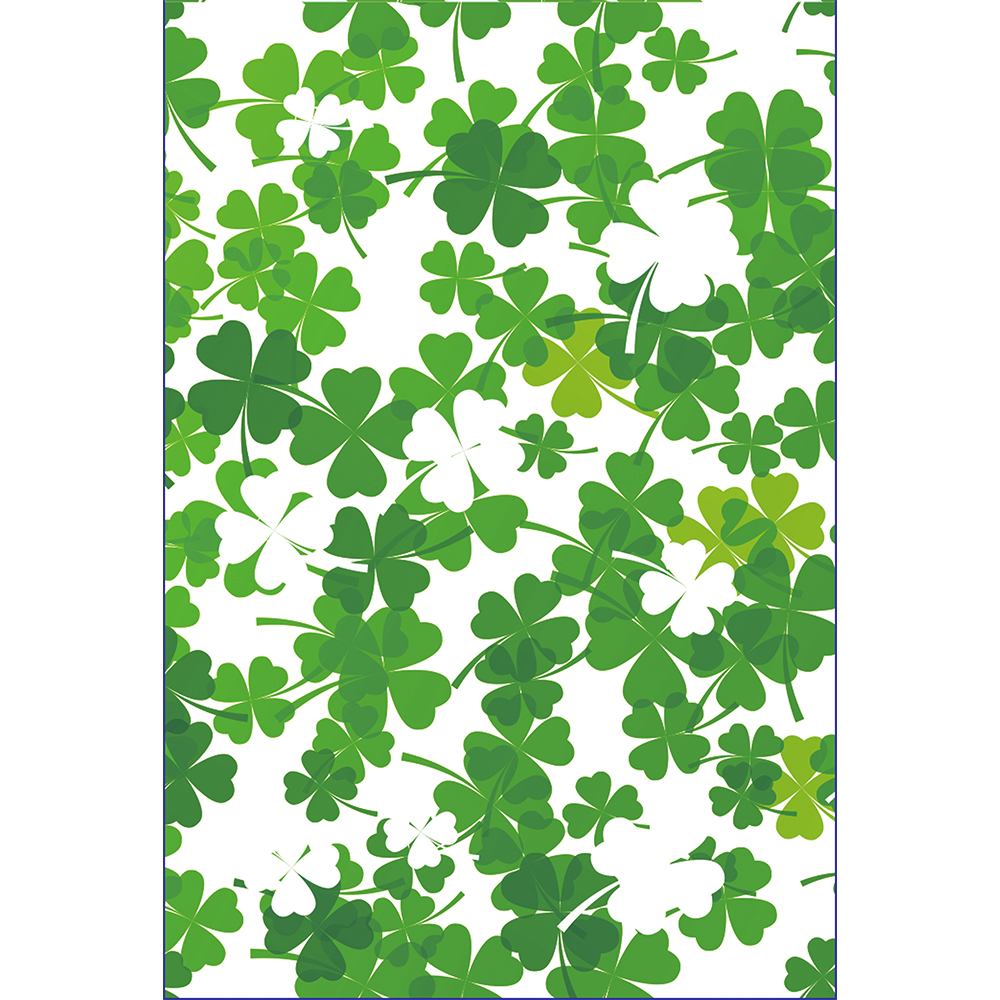 Clover Printed Garden Flags With Two Sided Printing Decorative ...