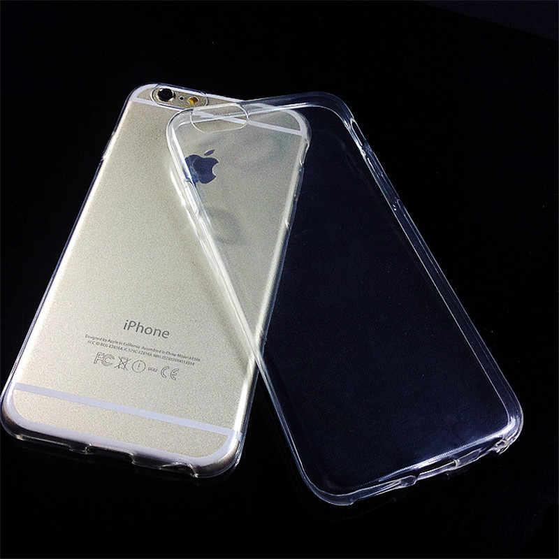 Силиконовый чехол Dillon Guan для iphone X XR Xs Max, Ультратонкий Прозрачный чехол для iphone 4 5 5S 5C 6 7 8 Plus
