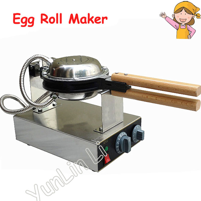 Popular Egg Roll Maker Household Electric Waffle Pan Muffin Machine Kitchen Waffle Maker with Adjustable Thermostat FY-6