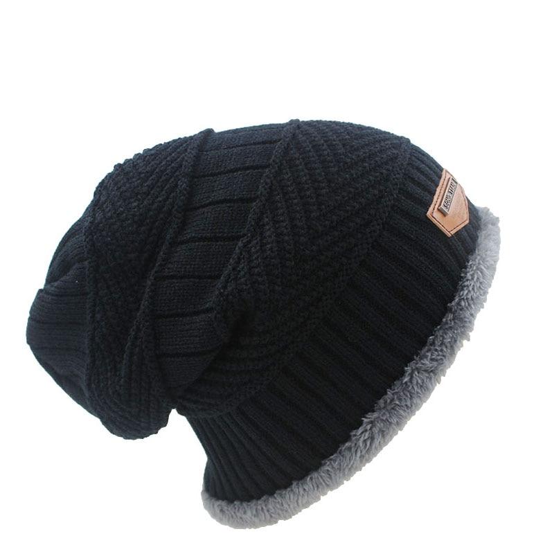2016 New Fashion 6 Colors Knit Adult Unisex Men Hat Winter Warm Caps font b Skullies