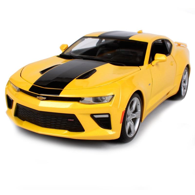 Maisto 118 2016 Chevrolet Camaro Ss Yellow Car Diecast 26511075